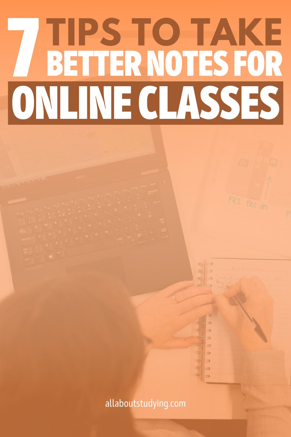 Tips On How To Take Better Notes During Online Class #takingnotes #notetaking #onlineclasses #onlinelearning #onlineschool